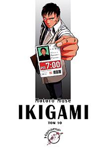 komiks japoński, Hanami, IKIGAMI 10 Motorō Mase,manga