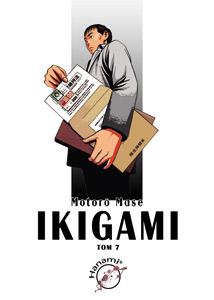 komiks japoński, Hanami, IKIGAMI 7 Motorō Mase,manga