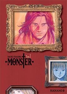 komiks japoński, Hanami, MONSTER 1 Naoki Urasawa,manga