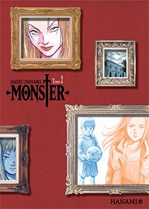 komiks japoński, Hanami, MONSTER 2 Naoki Urasawa,manga