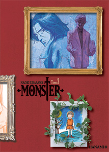 komiks japoński, Hanami, MONSTER 3 Naoki Urasawa,manga