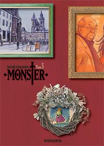 komiks japoński, Hanami, MONSTER 5 Naoki Urasawa,manga