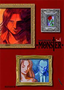 komiks japoński, Hanami, MONSTER 6 Naoki Urasawa,manga
