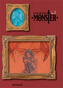 komiks japoński, Hanami, MONSTER 9 Naoki Urasawa,manga