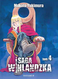 komiks japoński, Hanami, Saga Winlandzka 4 Makoto Yukimura,manga